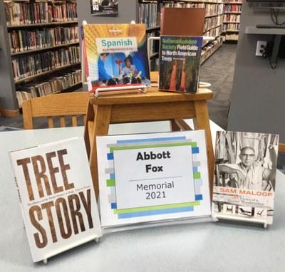Books in this year's Abbott Fox memorial