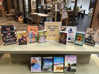 Books in this year's Agnes Jayne Memorial