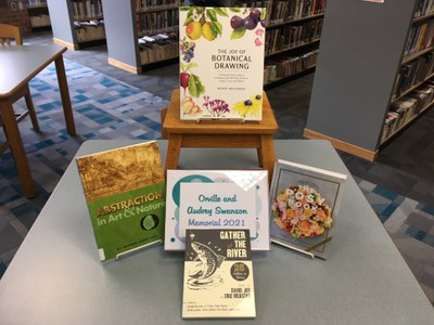 Books in this year's Audrey and Orville Swanson Memorial