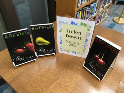 Books in this year's Helen Downs Memorial