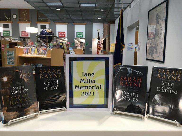Jane Miller Memorial 2021