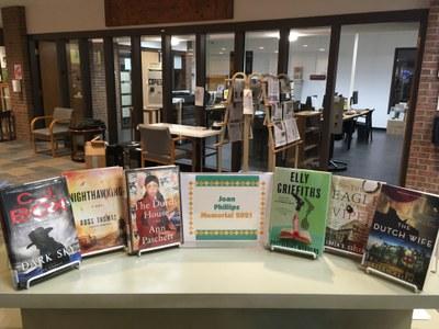 Books in this year's Joan Phillips Memorial