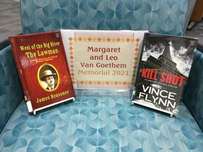 Books in this year's Margaret and Leo Van Goethem Memorial