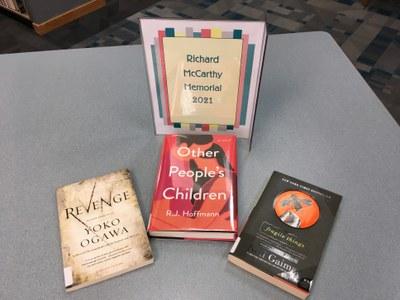 Books in this year's Richard McCarthy Memorial