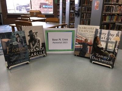 Books in this year's Rose Uren Memorial