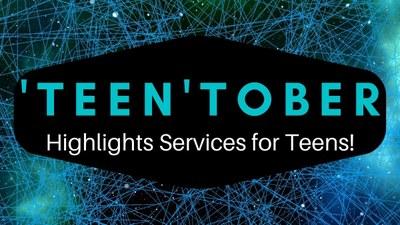 Graphic of TeenTober logo